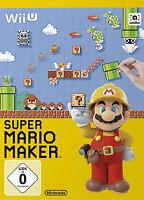 Super Mario Maker  Artbook Book Buch Edition Wii U Game Spiel Deutsche Ware top
