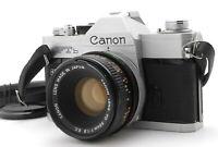 [AS IS] Canon FTb QL SLR 35mm Film Camera FD 50mm f1.8 SC From Japan #1158-0416