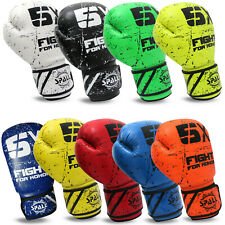 Boxing Gloves Mma Thai Training Fight Muay Bag Punching Sparring Gel Wraps Padd