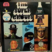 "Atlantic Compilation THE SUPER GROUPS (1969 Pressing) 12"" Vinyl Record LP - VG+"