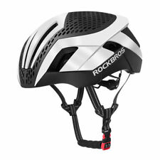 ROCKBROS MTB Road Bike Cycling EPS Integrally Helmet 3 in 1 White with Protector