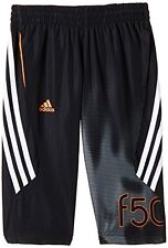 Adidas Jungen Gewoben 3/4 F50 Fußball Trainings Hose Trainingsanzug Hose.