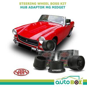 MG Midget MK2 MK3 MGB 1968-1970 SAAS Steering Wheel Boss Kit Hub Adaptor Adapter