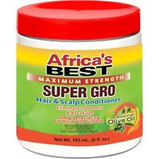 Africa's Best Maximum Strength Super Gro Hair & Scalp Conditioner - 5.25oz/155ml