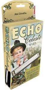 Hohner Echo Celeste Tremolo Harmonica in Eb With Zippered Case New In Box
