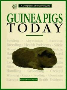 Guinea Pigs Today - New Book Care Breeding Cage Pig Hutch House Breeds Feeding