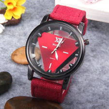 Women 's Fashion Denim Band Analog Quartz Stainless Steel Wrist Watch Watches