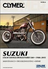 1986-2015 Suzuki Savage LS 650 Boulevard S40 CLYMER REPAIR MANUAL