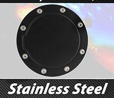 Black Fuel Gas Door Cover Trim 99- 06 GMC Chevy Silverado Sierra 1500
