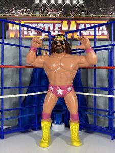 WWF LJN Macho Man Randy Savage Near Mint!! Vintage Titan Sports