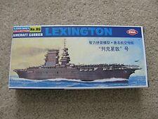 EKA Models 1:2000 Navy Collection #05 Aircraft Carrier LEXINGTON Gray Plastic