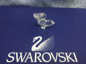 Swarovski Crystal Pelican 7679000001 171899. Retired 2002. MINT