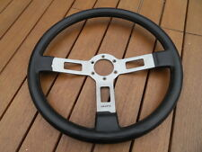 Vintage steering wheel ancien volant voiture style sport GTI Rally Fiat ABARTH