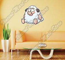 "Fat Baby Sheep Livestock Funny Gift Wall Sticker Room Interior Decor 22""X22"""