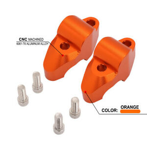 CNC Handlebar Risers Mount Clamp For  1090 1190 Adventure 1290Super Adventure