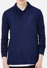 Gstar Indigo Ezra Shirt Buttons long sleeves mens Navy UK size S small *32