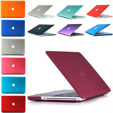 New Hard Plastic Shell Case Cover for Macbook Air 11/13 Pro 13/15 Retina 12 inch