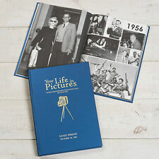 "Personalised ""Your Life In Pictures"" Newspaper Book Memorabilia Birthday Gift"
