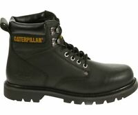"""Cat Footwear Men's Second Shift Leather 6"""" Soft Toe Work Boot Leather Slip Resis"""