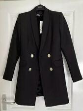Zara Double Breasted Frock Coat Blazer Jacket 2137/295 BNWT XXL 16 18