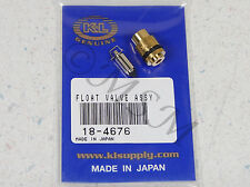 83-85 YAMAHA XC180 RIVA NEW K&L FLOAT VALVE NEEDLE & SEAT ASY 18-4676