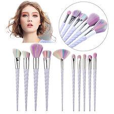 10pcs Pro Makeup Brushes Set Foundation Powder Eyeshadow Eyeliner Lip Brush Tool