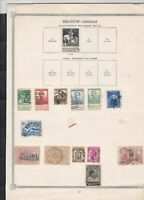 belgium  stamps page ref 18070