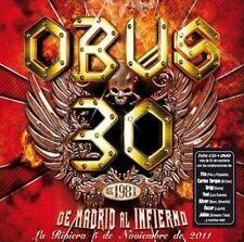 De Madrid al Infierno 2 CD+ 1 DVD OBUS 30 1981 ( area 0 works wordwide )