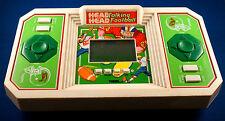 HEAD TO HEAD TALKING FOOTBALL TIGER ELECTRONICS TABLETOP HANDHELD GAME ARCADE