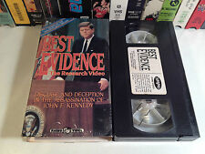 Best Evidence The Research Video Rare Conspiracy VHS OOP HTF JFK Assassination