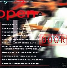 OPEN THE JAZZ DOOR Compil Miles Davis, Sting, Getz...