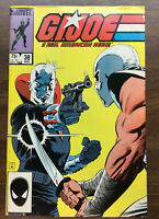 G.I. Joe #38 Marvel Destro Storm Shadow ORIGIN COBRA COMMANDER