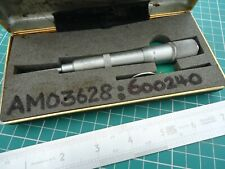 * MITUTOYO * Metric 0 to 25 mm Groove Micrometer Made in Japan ~ No. 146 -101