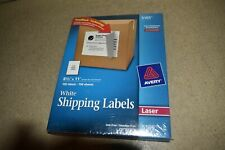 Avery 5165 Laser White Shipping Labels 8 12 X 11 New Rd15