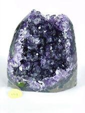 AMU199 Uruguayan Purple Free Standing Amethyst Quartz Geode Crystal Gift
