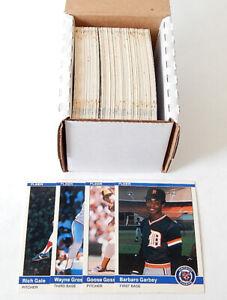 1984 Fleer Update Partial Baseball Set (129/132) No Clemens Puckett Gooden