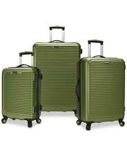 7867cdcab TRAVEL SELECT SAVANNAH 3 PC. HARDSIDE SPINNER LUGGAGE SET GREEN