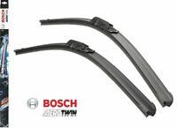 BOSCH AEROTWIN RETRO FIT FLAT FRONT WIPER BLADE SET 600/400 MM 24/16 INCH
