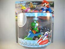 "Super Mario Kart estar-personaje ""Yoshi"" aprox. 12 cm nintendo wii u pull back Racer"