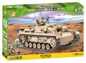 Cobi 2529 - (StuG III) Sturmgeschutz III Ausf.D Assault Gun (530pcs) - (DAK)