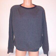 St Johns Bay Mens Sweater XL Gray Long Sleeve
