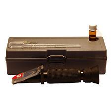 Refraktometer mit Licht, Honig, Brix, Wasser, Honigernte, Imker, Dr. Liebig