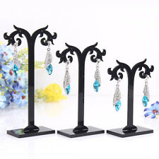 3 Pcs/Set Acrylic Earrings Display Stand Jewelry Organizer Holder Removable Good