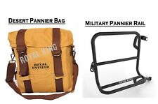Royal Enfield Desert Color RH Military Pannier & Fitting For Classic 350/500