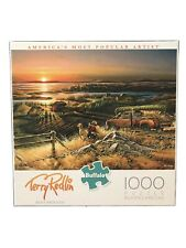 "NEW Buffalo Terry Redlin 1000 Piece Jigsaw Puzzle ""Best Friends"" - Free Shipping"