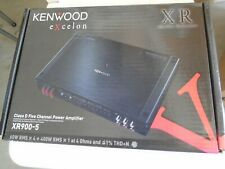 BRAND NEW KENWOOD EXCELON XR900-5 FIVE CHANNEL AMP.