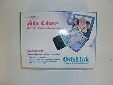 CARTE WIFI LAN PCMCIA NEUVE OVISLINK WL-8000PCM