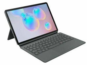 Samsung Galaxy Tab S6 10.5 Magnetic Book Keyboard Cover - Grey (EF-DT860UJEGWW)