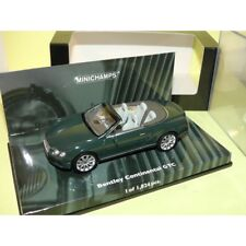 BENTLEY CONTINENTAL GTC 2011 Vert Green MINICHAMPS 1:43