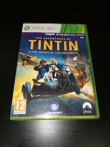 The Adventures of Tintin The Secret of the Unicorn Microsoft Xbox 360 Game